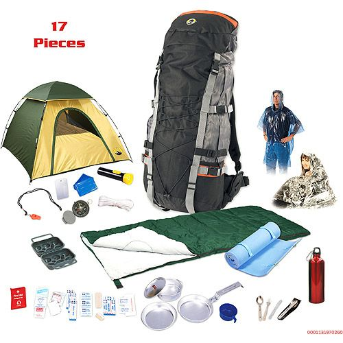 Stansport Internal Frame Backpack Camp Package Bundle