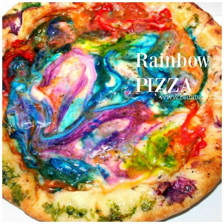 ~Rainbow PIZZA! – Oh Bite It
