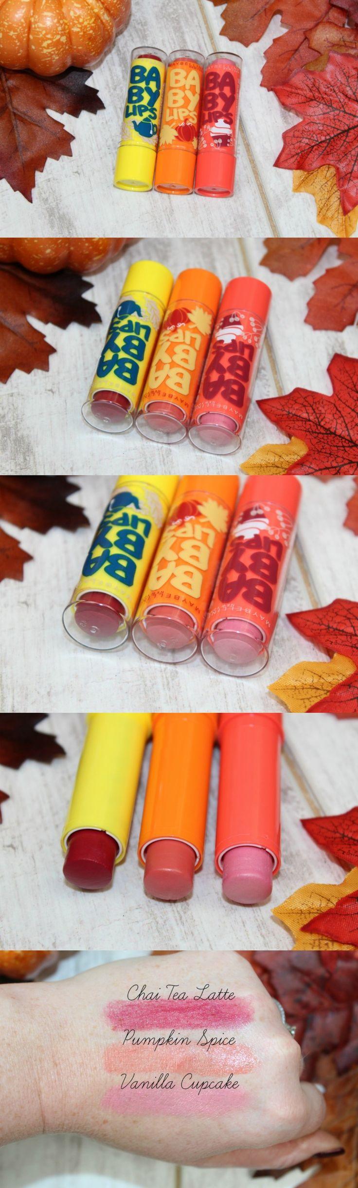 Maybelline Autumn Baby Lips - http://pinkparadisebeauty.blogspot.co.uk/2016/11/maybelline-baby-lips-autumn-editions.html