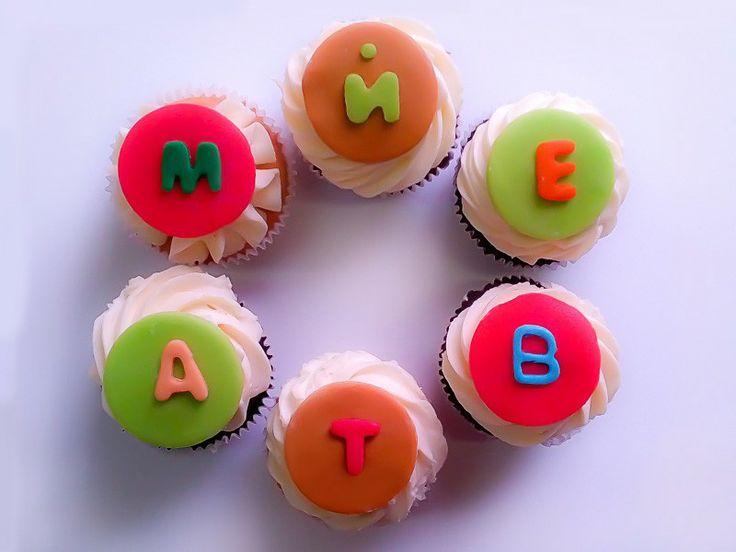 Капкейки для детей с поздравительной надписью