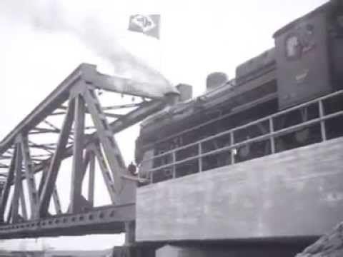 Spoorwegverbinding Noord - Zuid gereed (1947) - YouTube