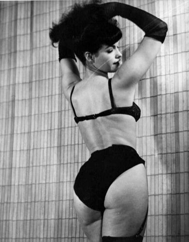 If Bettie Page can be smoking hott with cellulite then so can I damn it!