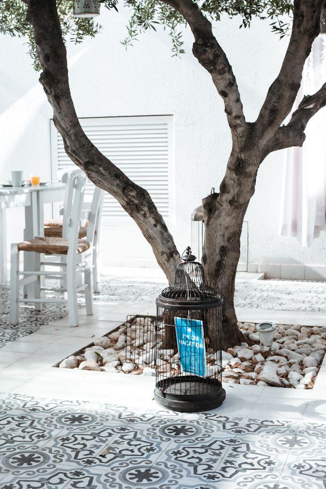 Morrocan tiles close-up @vingresor 's OBC - Ocean Beach Club