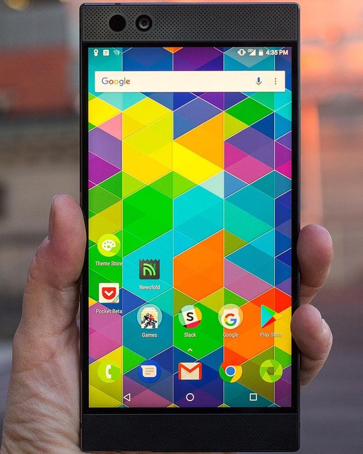 """The Razer Phone is the first phone to support both HDR #video and Dolby Digital 5.1 surround sound…"""""""