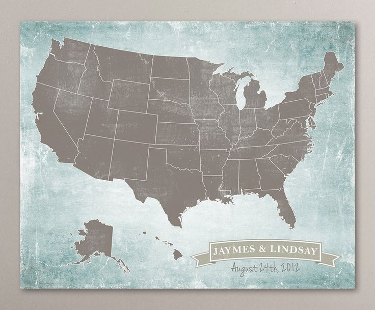 custom maps on etsy outlined states us map art print united by corkandbirchmaps