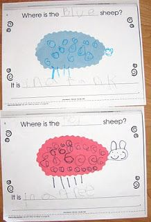 See what we did today: Earth Day and Where Is the Green Sheep?