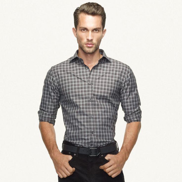Tobias Sorensen | Ralph Lauren LookbookDresses Shirts, Plaid Shirts