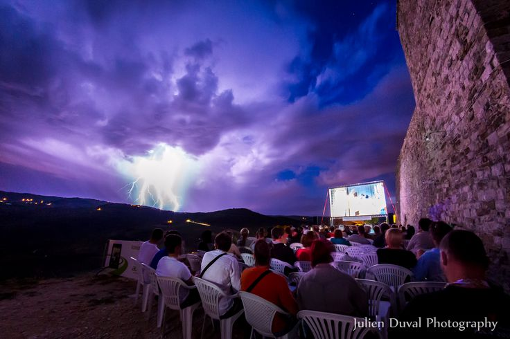 #190 Watch some great movies at the Motovun Film Festival, running this week.  Photo by Julien Duval Photography