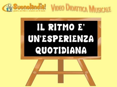 IL RITMO (1) - Video Didattica Musicale - YouTube