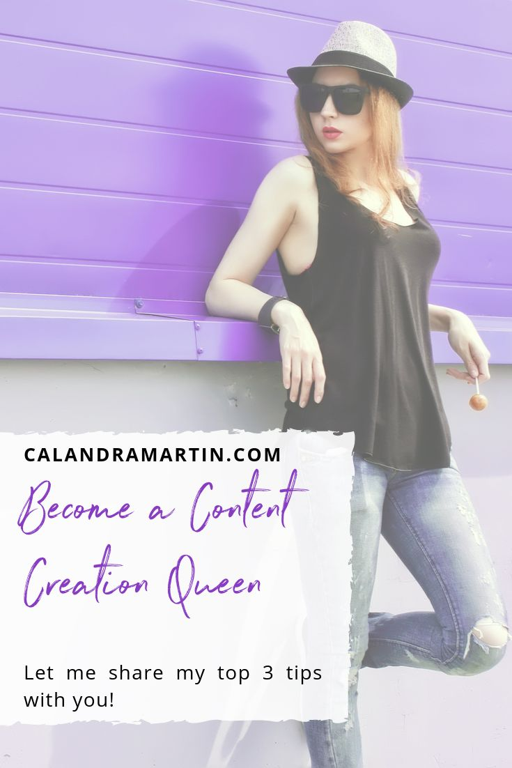 Werden Sie eine Content Creation Queen | Online-Dienstleister | Unternehmerin | Einzigartiges Branding