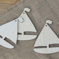 Wooden Boat Shapes