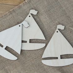 Wooden Boat Shapes