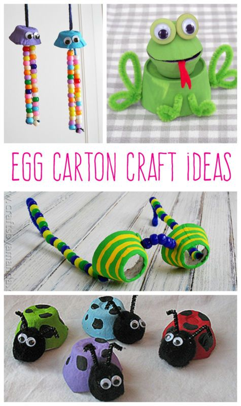 Not sure what to do with all of those egg cartons lying around? The possibilities are endless! eBay has some fun and colorful crafts to share that draw inspiration from a variety of things, including rain and baby animals. From egg carton jellyfish to egg cartoon spyglasses, follow along for step-by-step photos and instructions so that you and the kids can make these vibrant and easy creations for yourself!