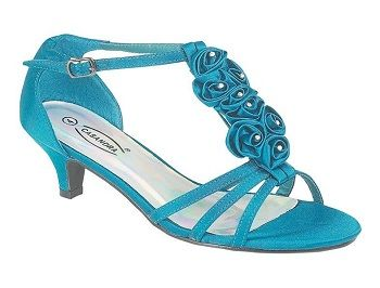 Cute Blue Wedding Shoes