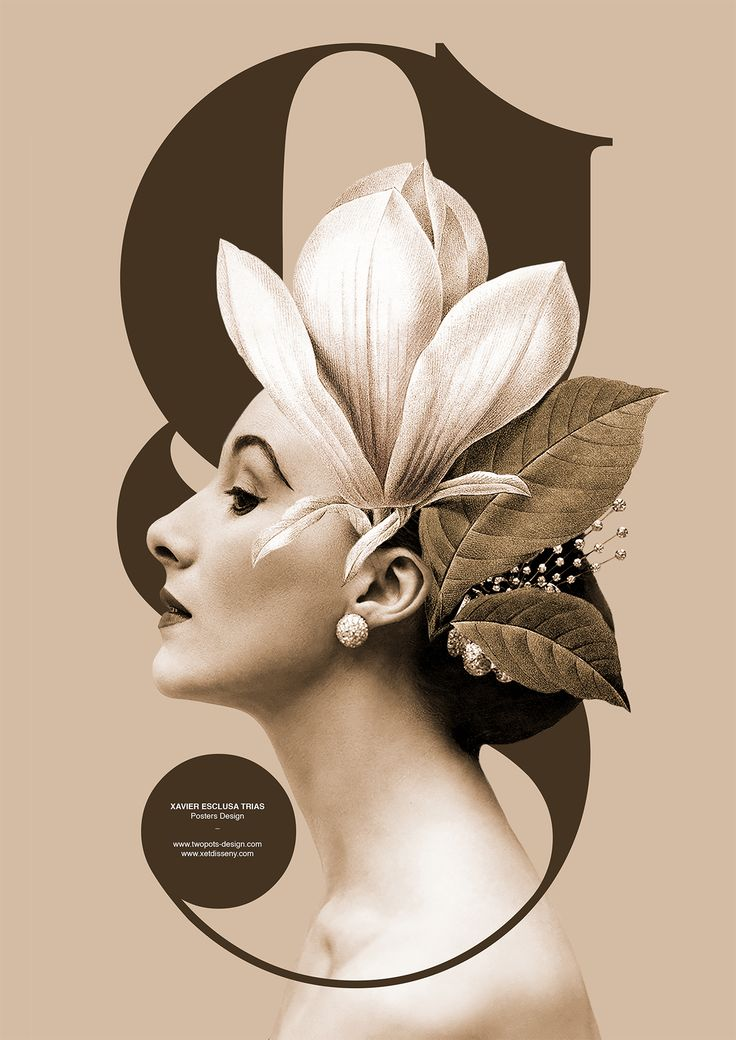 Poster by Xavier Esclusa Trias / Madame