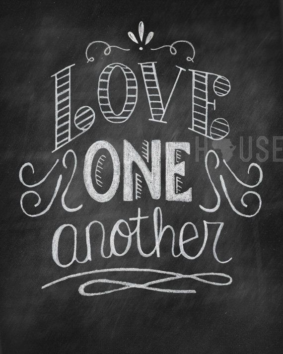 """simply-divine-creation:  John 13:34 """"A new command I give you: Love one another. As I have loved you so you must love one another. 
