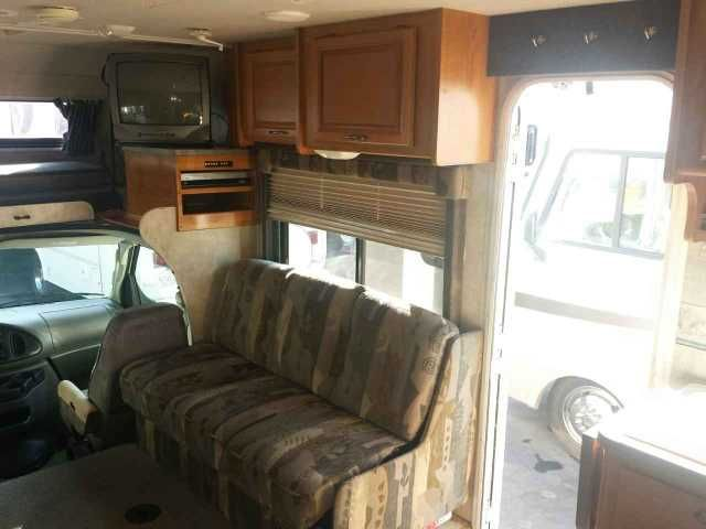 2006 Used Fleetwood Tioga 31M Class C in California CA.Recreational Vehicle, rv, 2006 Fleetwood Tioga 31M double slide-out with a 6.8 liter Ford V-10 on an E-450 chassis. Current mileage on this unit is 56478 miles. Spacious open floor plan with sleeping for 8. Rear walk around queen bed, dinette/sleeper, couch/sleeper and a cab-over bed. Private on suite bath with two access doors. Complete kitchen with 3 burner stove, oven and microwave. Ducted roof A/C , furnace, Onan 4.0 generator…