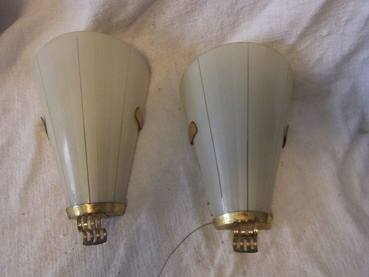 Ideal Paar Mid Century er Wand Lampen Sconces Wall Lamp