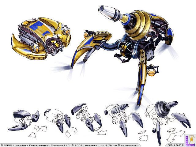 Star Wars: Galactic Battlegrounds - Clone Campaigns Concept Art