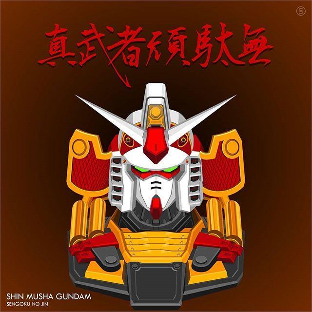 Shin Musha Gundam Sengoku No Jin Gundam Vector Mobilesuit Mecha Plamo Gunpla Instagundams Gundamstagram Mo Gundam Gundam Wallpapers Gundam Mobile Suit