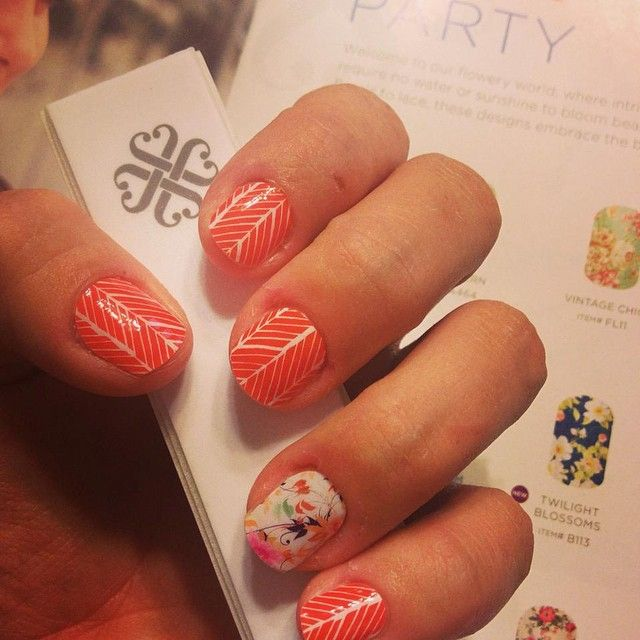 Love the Arrow paired with Sunday Brunch www.awesomejamwraps.jamberrynails.net