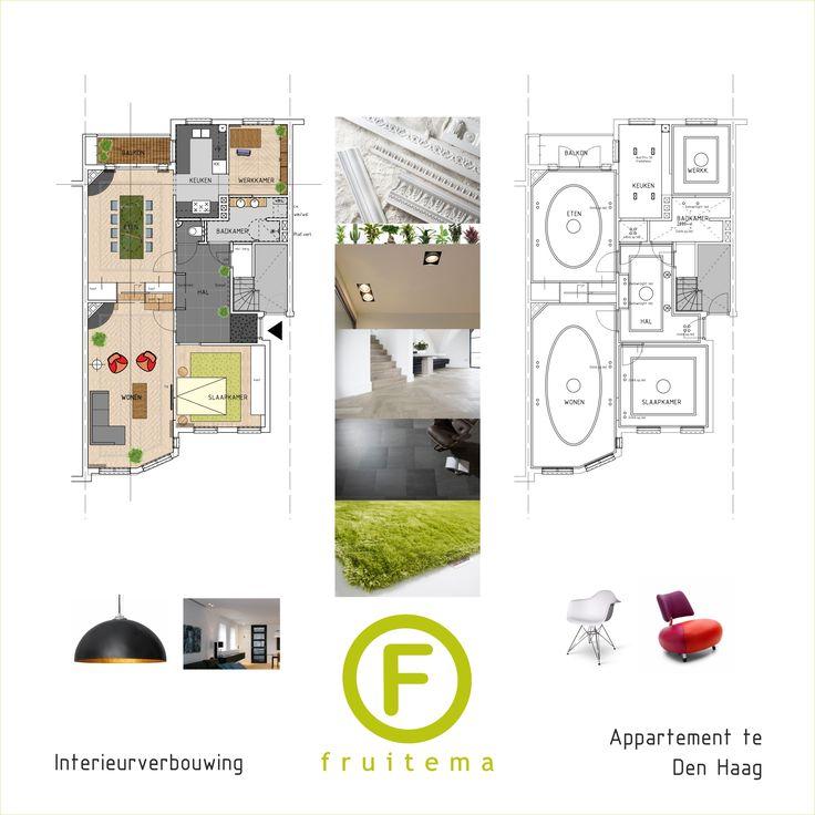 Misschien heb je een fraai appartement op het oog -of net gekocht-, en wil je er wat fantastisch van maken? Wij kunnen je helpen! Neem voor een vrijblijvend gesprek contact met ons op onder: info@fruitema.nl of bel 0251.650.079.