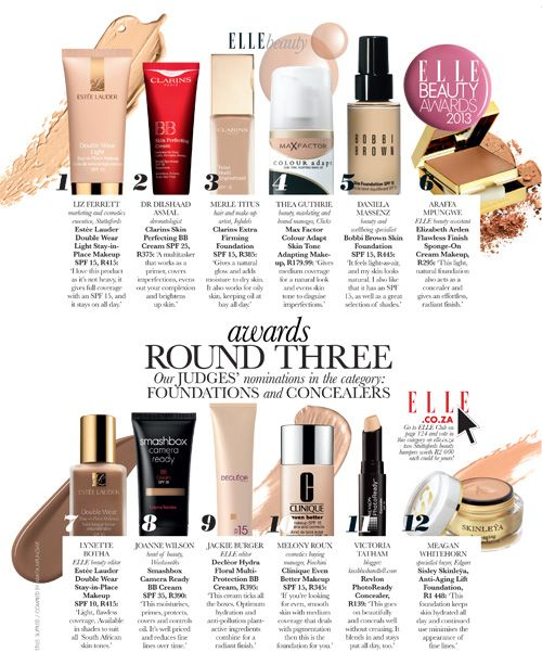 ELLE BEAUTY AWARDS: ROUND 3