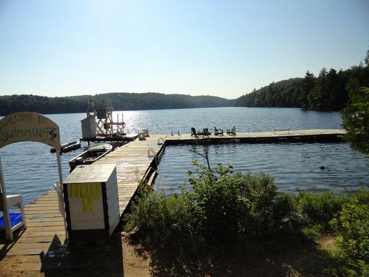 Swim docks at Camp Tanamakoon!