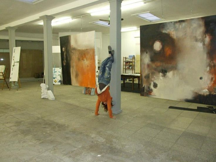 Big space to get back and look at giant paintings studio ideas pinterest - 10 square du docteur blanche 75016 paris ...