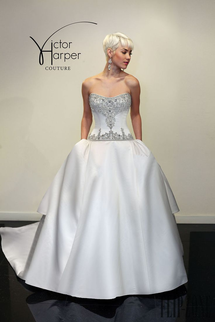 Victor Harper Couture 2015 collection - Bridal