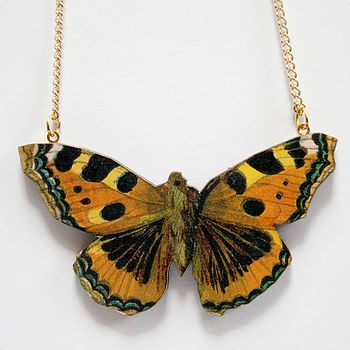 Christmas gift ideas - butterfly necklace!