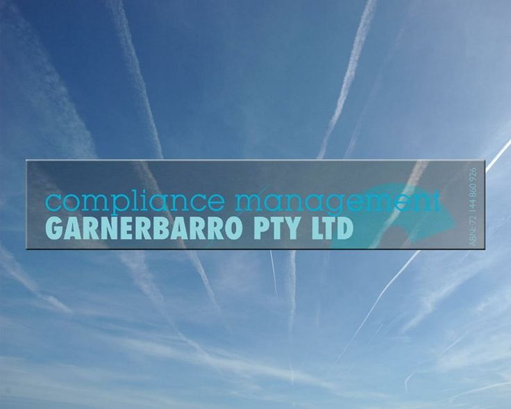 Here at GARNERBARRO Pty Ltd, we understand compliance in the aviation sector and the demands that safety and quality compliance have on small business  http://garnerbarro.com