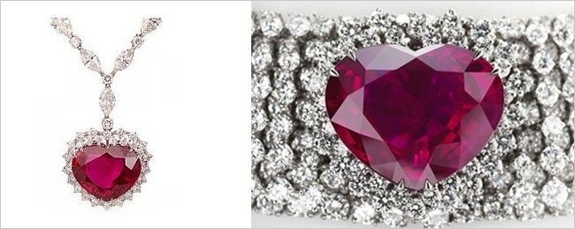 Image result for Heart of the Kingdom Ruby Necklace