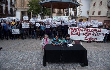 Altasu Guardia Civil Ospa Mugimendua Partido Socialista de Navarra, Geroa Bai y Goazen Altsasu avanzando hacia la paz y la convivencia