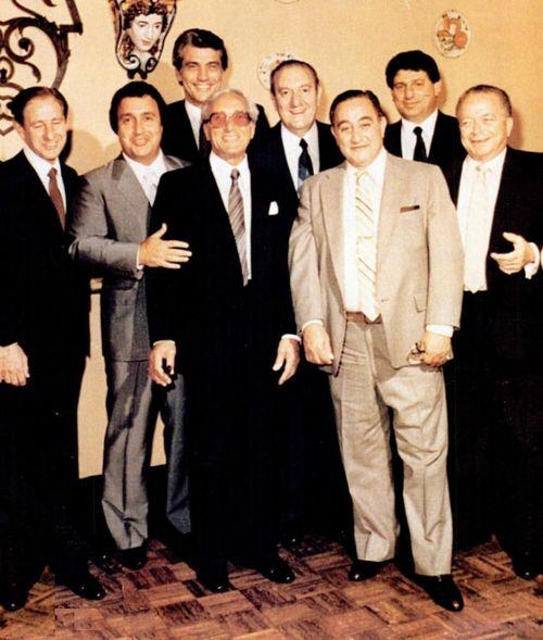 Tommy Gambino, Tommy Bilotti, Joe Butch Corrao, Joe Brewster delmonico , Paul Castellano, Frank D'Apolito, Frank Deccico, James Failla.