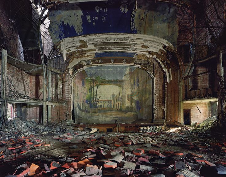 Palace Theatre Gary Indianda: Detroit Ruins, Abandoned Theatre, Abandoned Theater, Andrew Moore, Palaces Theater, Art, Gary Indiana, Forgotten, Abandoned Places