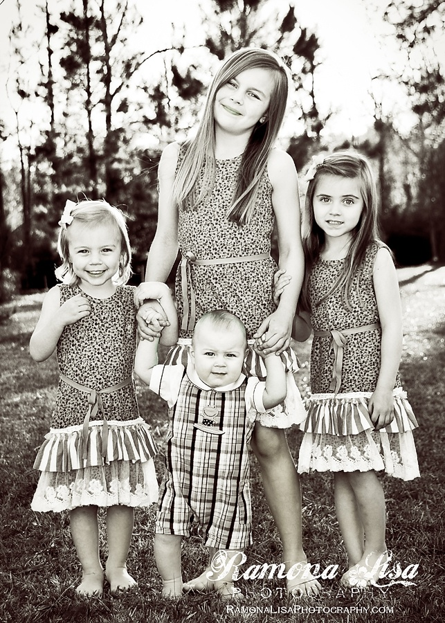 My babies: Liliana, Leila, Amelia & William.  © Ramona Lisa Wicht