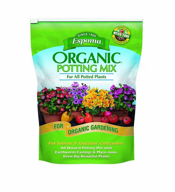 Amazon Com Espoma Ap8 8 Quart Organic Potting Mix Soil 400 x 300