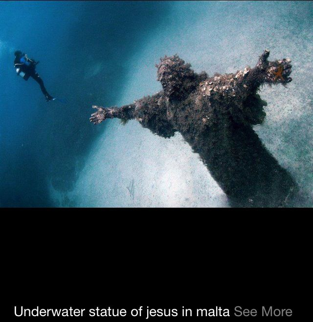 Underwater in Malta Islands. - Ahaa! This is in Malta?! Would be great to see this too.