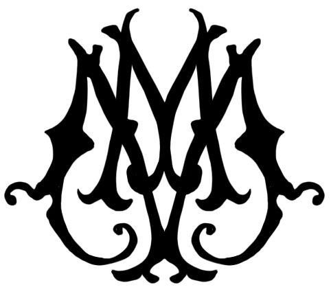 Ministry of Magic emblem: Lightning Bolt, Magic Emblem, Google Search, Logos Inspiration, Monograms Anonymous, Experimental Charms Ministry, Magic Monograms
