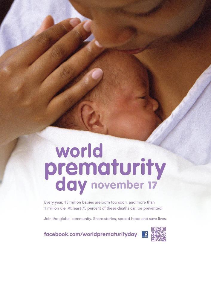 Raising awareness worldwide for World Prematurity Day
