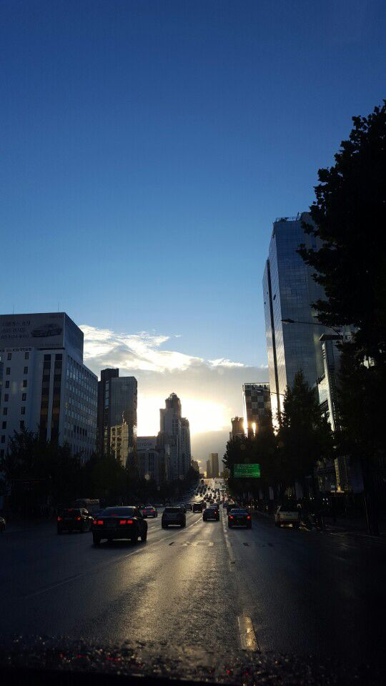 #sky #city #seoul_korea