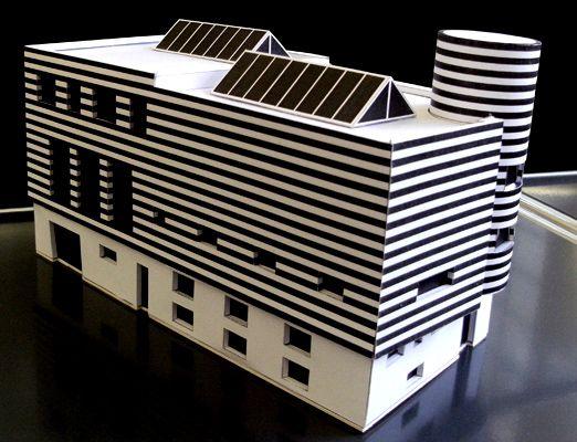 Model josephine baker house made for riba 39 adolf loosthe for Josephine baker swimming pool