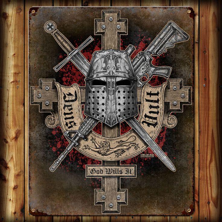 'Deus Vult' (God Wills It) -