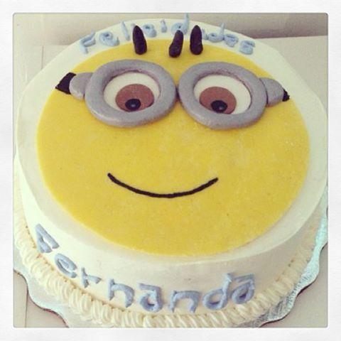 ¡Pastel de #minion!