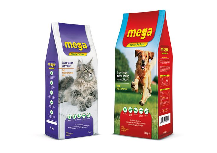 MEGA PET FOOD – design process