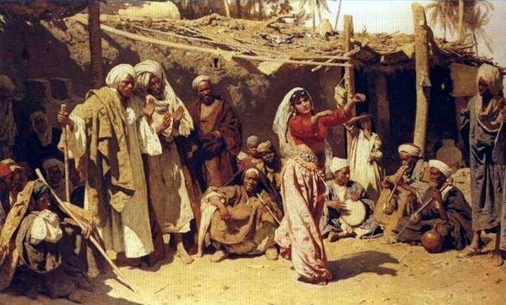 Ghaziya de Sa'id - Léopold Carl Muller. XIXe siècle