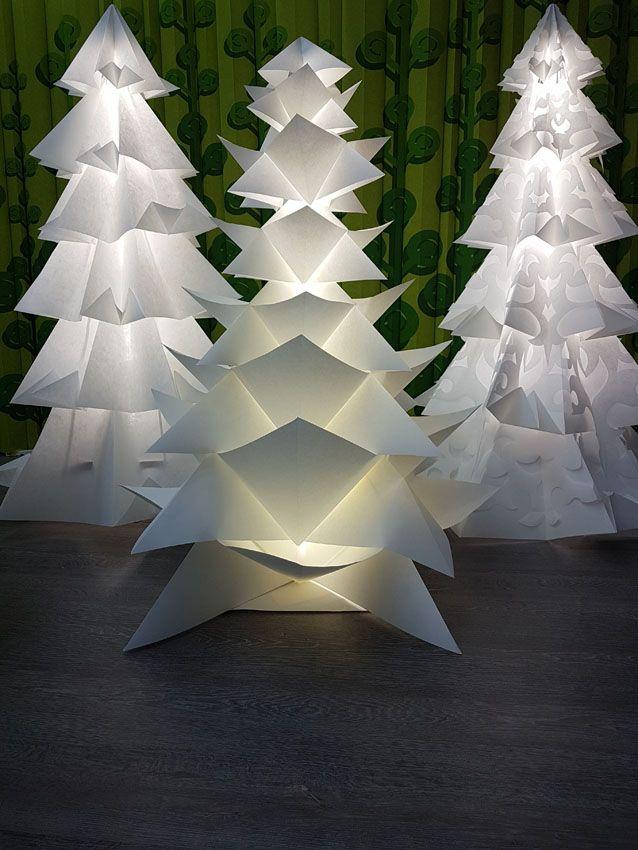 Дизайнерские елки ручной работы.