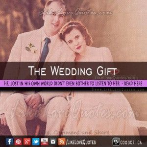 The Wedding Gift – Story