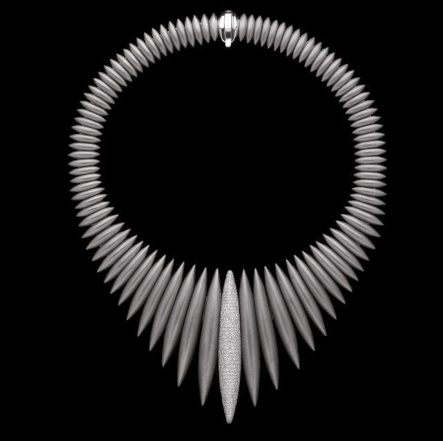 Massimiliano Bonoli - Design Collier #titanium #jewel